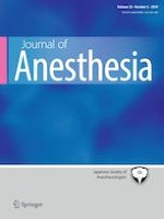 Journal of Anesthesia 5/2019