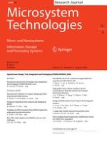 Microsystem Technologies 8/2009