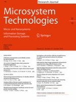 Microsystem Technologies 10/2016