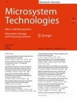 Microsystem Technologies 9/2018