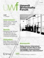 uwf UmweltWirtschaftsForum 1/2007