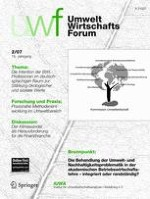 uwf UmweltWirtschaftsForum 2/2007