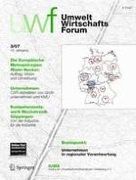 uwf UmweltWirtschaftsForum 3/2007