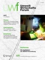 uwf UmweltWirtschaftsForum 4/2007