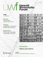 uwf UmweltWirtschaftsForum 1/2008