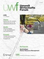 uwf UmweltWirtschaftsForum 4/2008