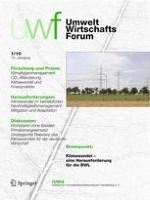 Sustainability Management Forum | NachhaltigkeitsManagementForum 1/2010