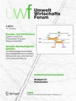 Sustainability Management Forum | NachhaltigkeitsManagementForum 1-2/2011