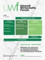 uwf UmweltWirtschaftsForum 1/2012