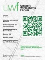 uwf UmweltWirtschaftsForum 1-2/2013