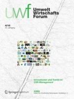 NachhaltigkeitsManagementForum | Sustainability Management Forum 4/2015