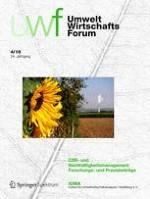 NachhaltigkeitsManagementForum | Sustainability Management Forum 4/2016