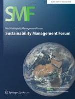 NachhaltigkeitsManagementForum | Sustainability Management Forum 1-4/2018
