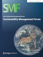 Sustainability Management Forum | NachhaltigkeitsManagementForum 3-4/2019