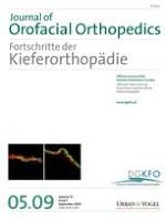 Journal of Orofacial Orthopedics / Fortschritte der Kieferorthopädie 5/2009