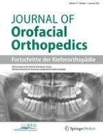 Journal of Orofacial Orthopedics / Fortschritte der Kieferorthopädie 1/2016