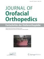 Journal of Orofacial Orthopedics / Fortschritte der Kieferorthopädie 2/2019