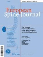 European Spine Journal 3/2006