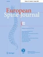 European Spine Journal 8/2009