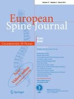 European Spine Journal 3/2012