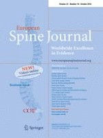European Spine Journal 10/2016