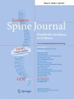 European Spine Journal 4/2016