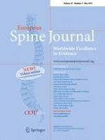 European Spine Journal 5/2016