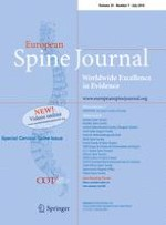 European Spine Journal 7/2016