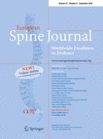 European Spine Journal 9/2016
