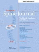 European Spine Journal 1/2017