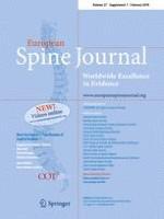 European Spine Journal 1/2018