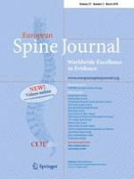 European Spine Journal 3/2018