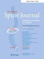 European Spine Journal 7/2018