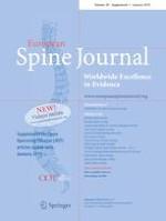 European Spine Journal 1/2019