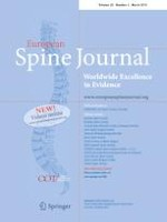 European Spine Journal 3/2019