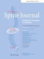 European Spine Journal 4/2019