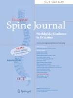 European Spine Journal 5/2019