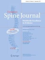 European Spine Journal 9/2019