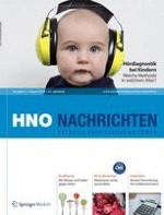 HNO Nachrichten 4/2012