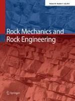 Rock Mechanics and Rock Engineering 4/2013