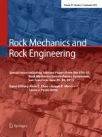 Rock Mechanics and Rock Engineering 5/2014