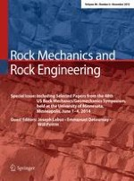 Rock Mechanics and Rock Engineering 6/2015