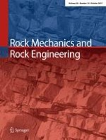 Rock Mechanics and Rock Engineering 10/2017