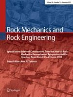 Rock Mechanics and Rock Engineering 12/2017