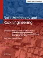Rock Mechanics and Rock Engineering 12/2018