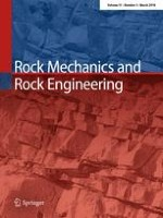 Rock Mechanics and Rock Engineering 3/2018