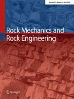 Rock Mechanics and Rock Engineering 4/2018
