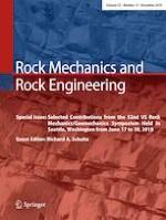 Rock Mechanics and Rock Engineering 12/2019