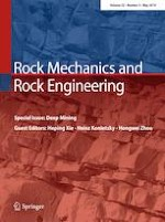 Rock Mechanics and Rock Engineering 5/2019