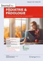 Pädiatrie & Pädologie 5/2018